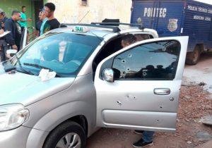 Acusado de matar taxista com mais de 30 tiros é preso