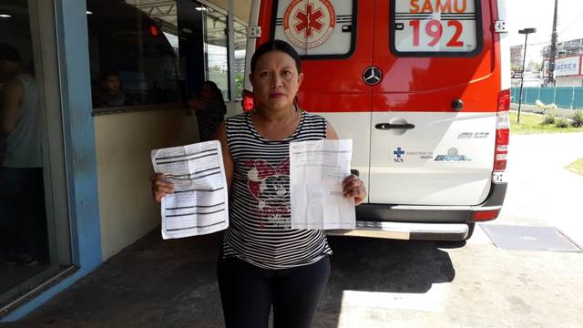 Mulher com aneurisma aguarda há duas semanas cumprimento de ordem judicial