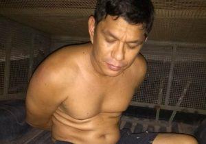 Acusado de agredir mulher e filhos é preso com arma de fogo