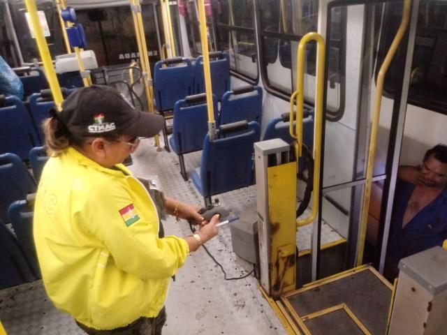 CTMac encontra irregularidades em 142 ônibus após fiscalização
