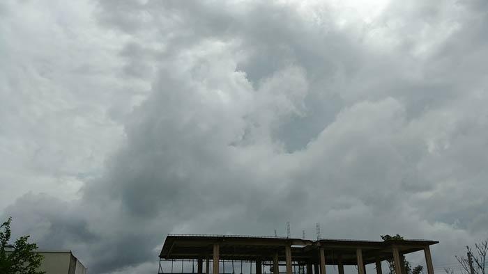 Nuvens na Guiana afetam clima em Oiapoque, diz Iepa