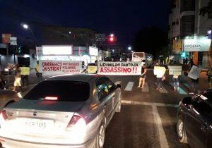 Em protesto, família de taxista morto em motel pede prisão de suspeito