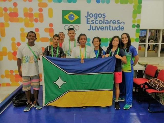 Amapá atinge seu melhor desempenho nos Jogos Escolares da Juventude
