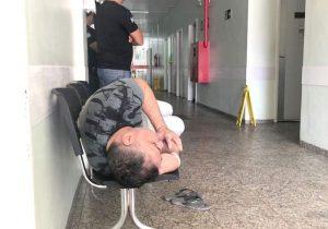 Com suspeita de AVC, Moisés é atendido em hospital particular