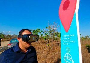 Realidade virtual mostra o Palácio das Águas a futuros moradores; construção já começou