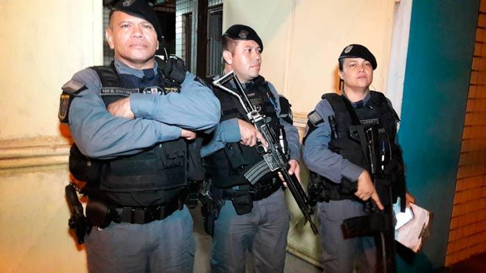 Durante réveillon, polícia teve trabalho com as brigas de família