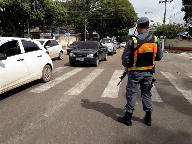 BPTran intensifica fiscalização em Macapá