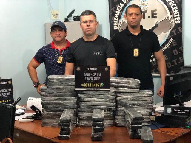 DTE apreende 50 kg de maconha no Aeroporto de Macapá