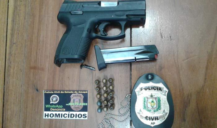 Empresário acusado de homicídio é preso por porte ilegal de arma
