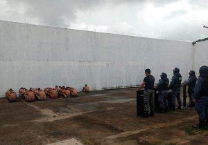 """Agentes flagram """"pescaria"""" em presídio de Oiapoque, no Amapá"""