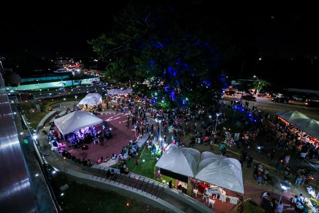 Samba vai embalar último Luau da Samaúma de 2018