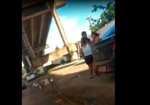 VÍDEO: Cabo da PM é preso após agredir esposa e atirar em homem