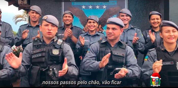 Em VÍDEO, PM do Amapá pede paz em 2019