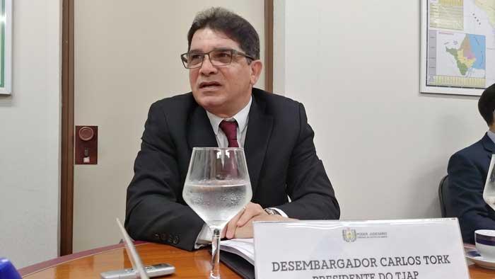 Tork confirma fim do auxílio-moradia de R$ 4,3 mil para magistrados do Amapá