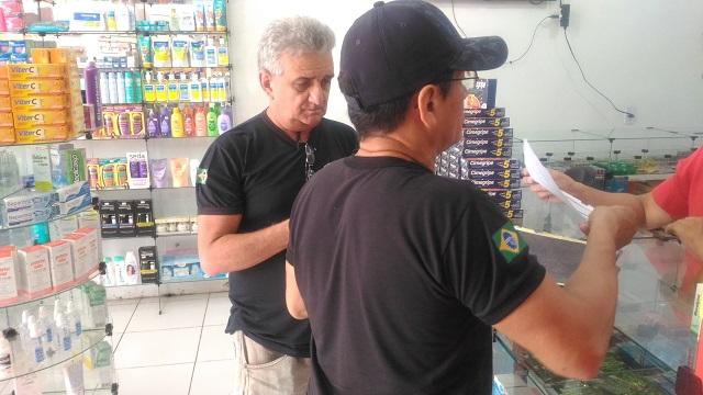 Fiscalização notifica 86 farmácias na zona norte de Macapá