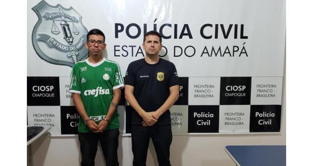 Acusado de roubar e matar indígena da Guiana Francesa é preso