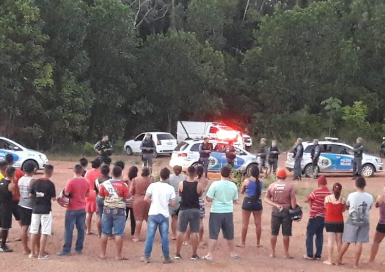 PM identifica dupla morta em confronto em Santana