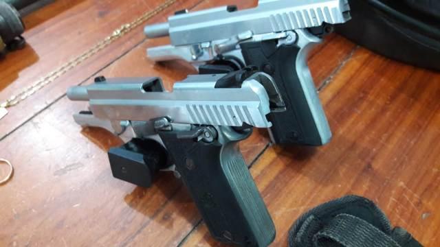 Membro de facção é preso com três armas de fogo