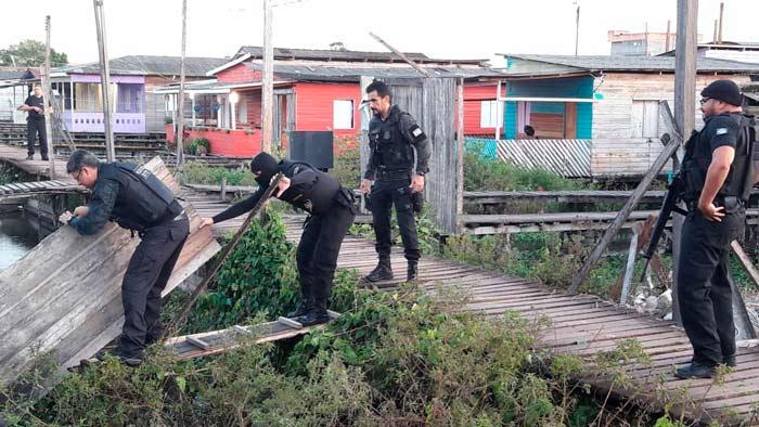 Polícia Civil cumpre mandados em área de pontes de Macapá
