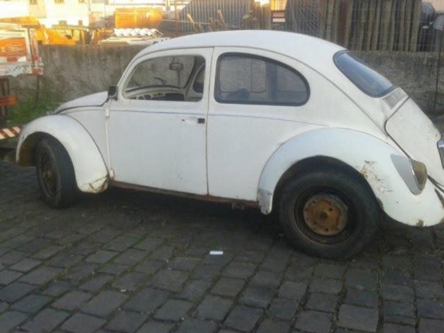 CRÔNICA l Fusca velho: nosso primeiro carro