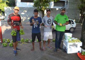 Manga com sal: após divulgação, ambulante vende 1.000 unidades num dia