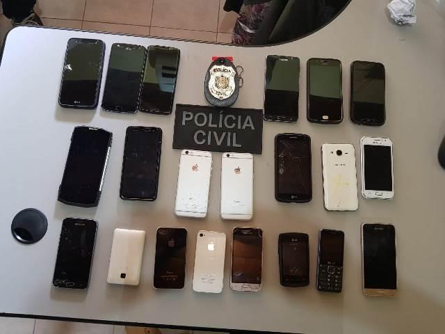 Mais de 100 celulares são recuperados pela Polícia Civil em L. do Jari