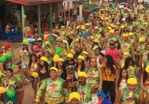 Bloco carnavalesco homenageia professora no interior do Amapá