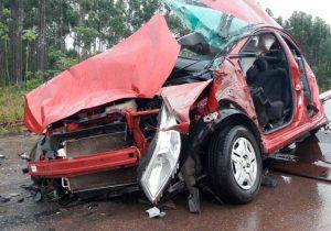 Professora e marido morrem em acidente na BR-210
