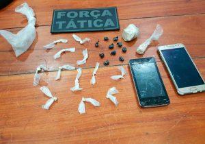 Preso, acusado de tráfico é reconhecido por vítimas de assalto