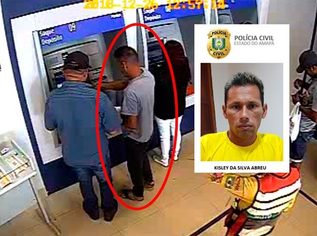 Maior estelionatário de bancos do Amapá usava princípio de mágica, diz polícia