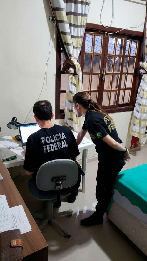 Suspeito é preso por esconder documentos em nova operação da PF