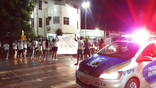 Protesto pede prisão de agente penitenciário acusado de homicídio no Amapá
