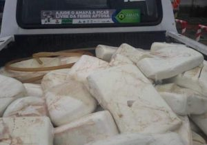 Apreensão: quase meia tonelada de queijo é considerada imprópria para consumo