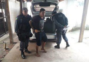 Foragido é preso e afirma que voltará a roubar