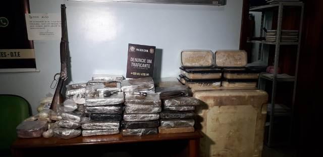 Drogas apreendidas em Macapá renderiam mais de R$ 1 milhão a traficantes