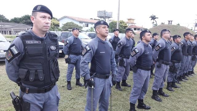Batalhão de Força Tática forma mais 36 militares