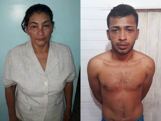 Bope prende mãe e filho com munições e drogas