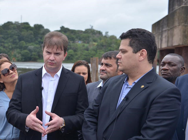 No Jari, ministro diz que Amapá será valorizado, e que ponte será retomada