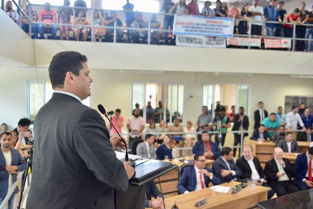 Em Santana, Davi afirma Porto e Terminal Hidroviário como prioridades