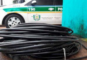 Quase 1 mil residências ficam sem internet após furto de cabos