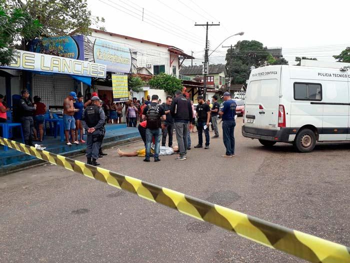 Jovem é morto quando abria lanchonete próximo ao Fórum de Macapá