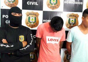 Crime passional: mandante e executor são presos em Macapá