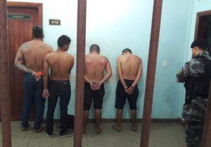 Na zona sul, quatro são presos por receptação de motos roubadas