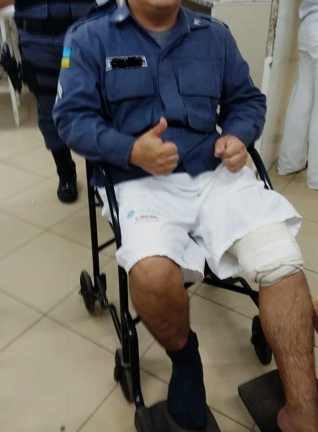 PM do Amapá é baleado durante perseguição; atirador fugiu