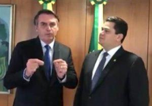 Em VÍDEO, Bolsonaro confirma presença na inauguração do Aeroporto de Macapá