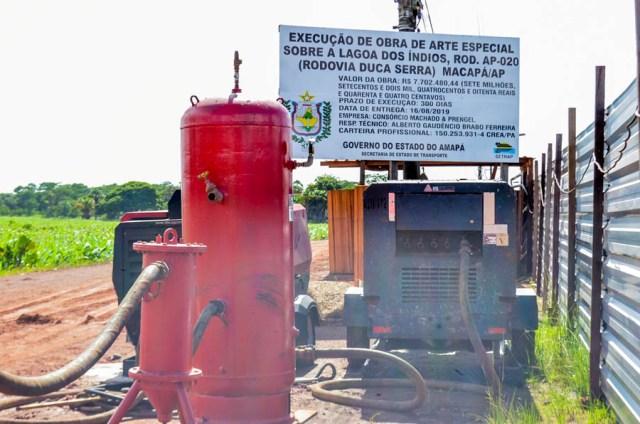 Por obra em ponte, Duca Serra será parcialmente interditada
