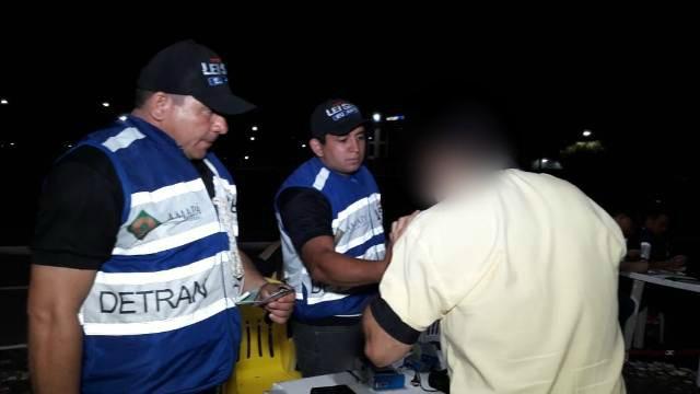 Lei Seca: madrugada tem 22 autuações em Macapá