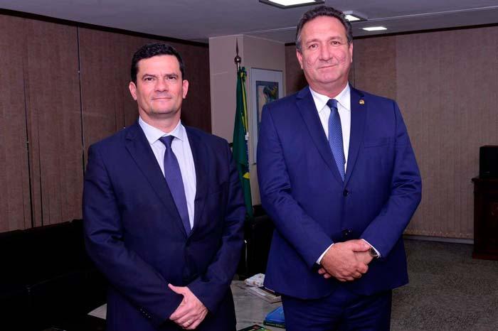 Ministro Moro libera R$ 5 milhões para viaturas policiais no Amapá