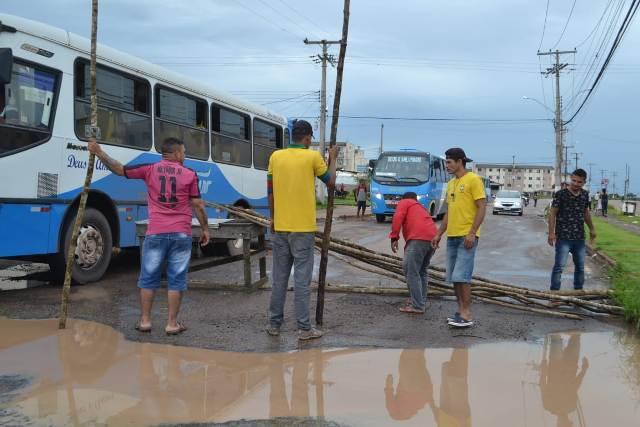 Após protesto, Semob fará intervenção em ruas do Macapaba