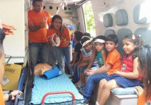 """""""Samuzinho Kids"""": Crianças aprenderão primeiros socorros e educação cívica"""